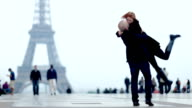 Paris Romance Couple