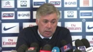 Paris Saint Germain coach Carlo Ancelotti says David Beckham who signed a five month contract with the French leaders last month will skip Sundays...