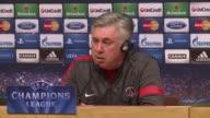 Paris Saint Germain coach Carlo Ancelotti says his side is expecting a difficult match in their Champions League quarter final second leg against...