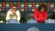 Paris Saint Germain coach Laurent Blanc confirmed on Monday that Lucas Yohan Cabaye and Serge Aurier will all miss Tuesday's Champions League last 16...