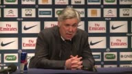 Paris Saint Germain manager Carlo Ancelotti says new signing David Beckham is ready to make an appearance as his side prepare to face rival Marseille...