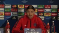 Paris Saint Germain talisman Zlatan Ibrahimovic said on Tuesday his side is not expecting an easy match when they take on Chelsea in the Champions...
