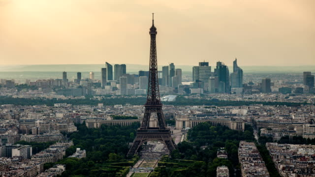 TIME LAPSE : Paris Skyline