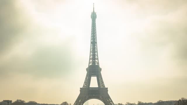 Paris, Timelapse of Eiffel Tower