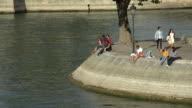 parisian on the river seine