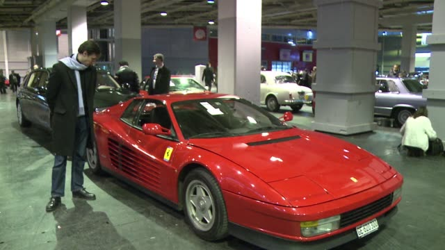 Pariss Salon Retromobile vintage car show has opened in the French capital with the highlight a Ferrari Testarossa owned by French Swiss actor Alain...