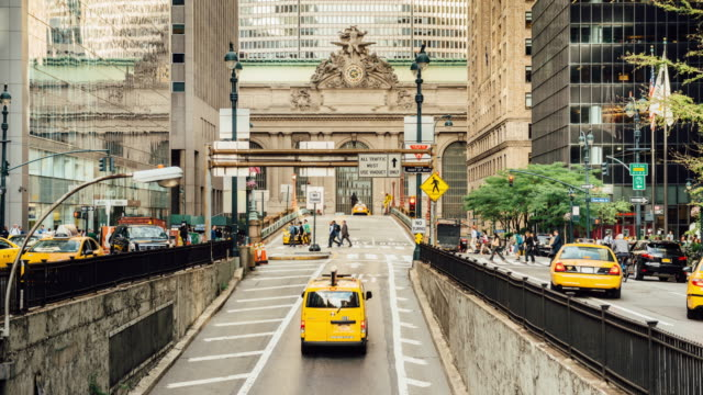 Park Avenue Rush Hour in New York City