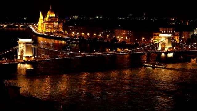 Parliament Building and Széchenyi Chain Bridge