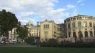 WS, PAN, Parliament building, Oslo, Norway