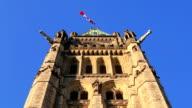 Parlamentsgebäude mit Kanadische Flagge