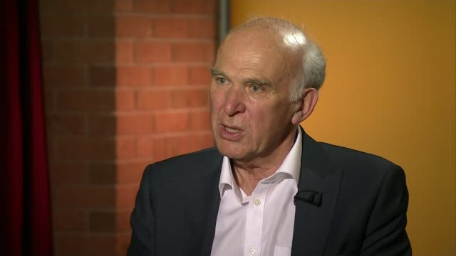 18yearold man arrested in Dover / property raided in Sunbury INT Sir Vince Cable MP interview SOT