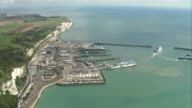 18yearold man arrested in Dover / property raided in Sunbury Kent Dover Ferries at departure area of Dover port
