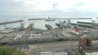 18yearold man arrested in Dover / property raided in Sunbury Kent Dover Wide shot of Dover port