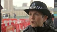 Met Police Commissioner Cressida Dick on patrol Commissioner Cressida Dick interview re Parsons Green investigation SOT