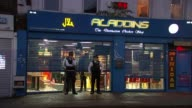 More details emerge about suspects London Hounslow Police officers outside 'Aladdins' chicken shop INT Suleman Sarwar interview SOT