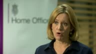 Police arrest second man / security threat lowered London INT Amber Rudd MP interview SOT Following attack in Parsons Green last Friday police have...