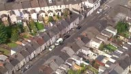 Police make two further arrests WALES Newport VIEWS / AERIALS police vans outside address where arrests were made