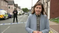 Police make two further arrests WALES Newport EXT Reporter to camera