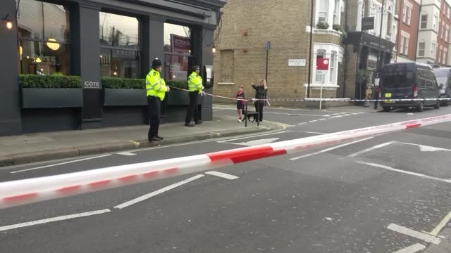 Parsons Green Lane closed off for 'at least a couple days' while police investigate the cause of the stabbing that left one person dead and two...