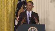 Part 2 of President Obama's opening statement on increased oversight of NSA FISA domestic surveillance Entire presser filmed available President...