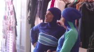 Part bikini part all covering burqa the burkini swimsuit has sparked huge controversy in France but in Australia where the beach is a national...