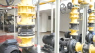 Part of factory machinery