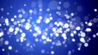 Particle Background - Blue