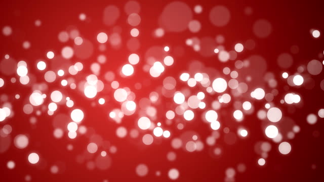 Particle Background - Red