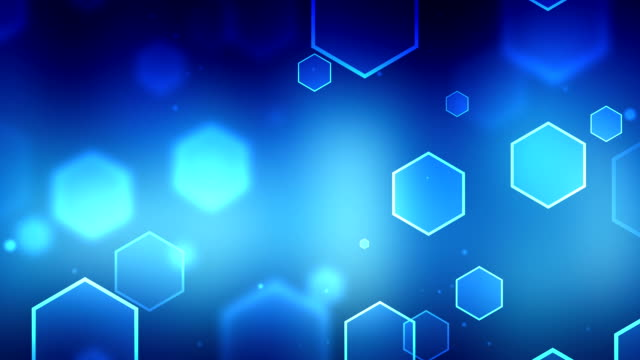 Particle Blue Backgrounds\tLoopable