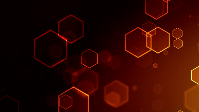 Particle Orange Backgrounds Loopable