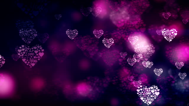 Particle Purple Valentine's Day Loopable