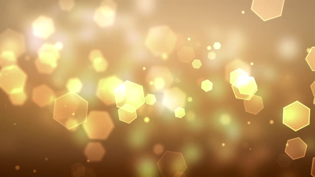 Particle Yellow Backgrounds Loopable