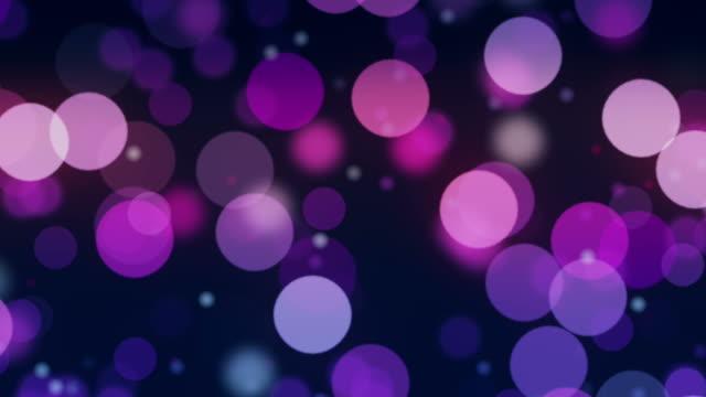 Partikel floating in Zeitlupe. Out of focus-Technik für eine bessere visuelle Effekte.
