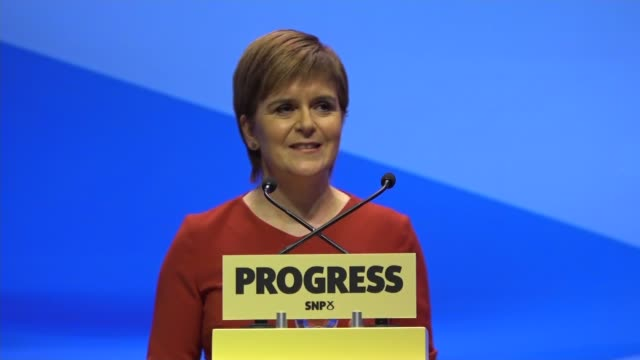 Nicola Sturgeon keynote speech Nicola Sturgeon MSP speech SOT we can make a difference for different generations In 2009 we passed world leading...