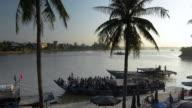 MS Passenger boats at Bach Dang Docks / Hoi An, Quang Nam, Viet Nam