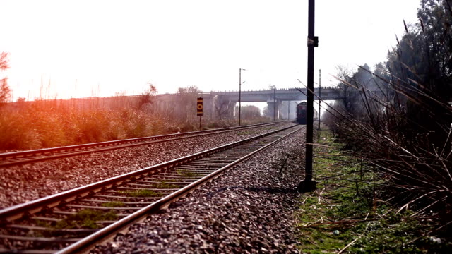 Passenger Indian train