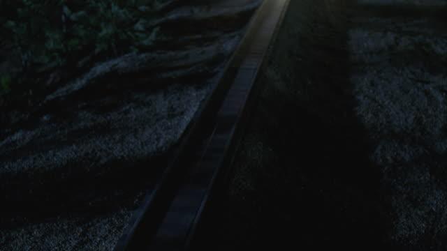 HA, MS, Passenger train riding at night