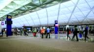 Passenger Walking In Airport