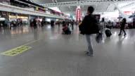 WS Passengers at Highspeed Railway Station / Guangzhou, China