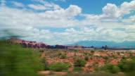 Passieren Sie die malerische Landschaft