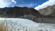 Passu glacier in Karakoram range, Passu, Pakistan