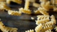 Pasta Fusilli Falling Down