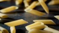 Pasta Penne Falling Down