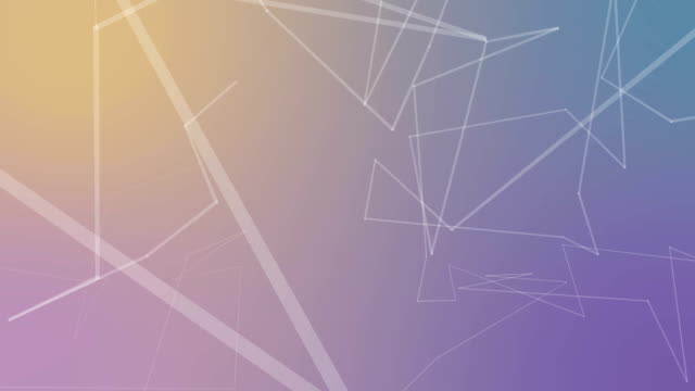 Pastel Color Abstract connections background