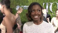 INTERVIEW Patina Miller on what the Tony's mean to her at 2015 Tony Awards Arrivals at Radio City Music Hall on June 07 2015 in New York City