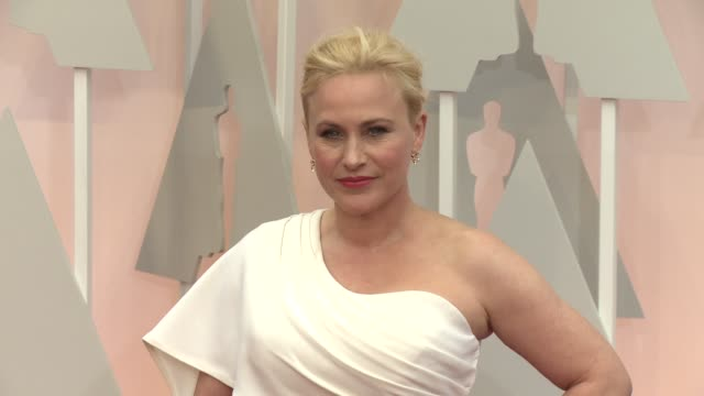 Patricia Arquette at 87th Annual Academy Awards Arrivals at Dolby Theatre on February 22 2015 in Hollywood California