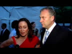Patricia Heaton and David Hunt on the need to get out of the city in the summer and their own plans for the summer at the Fresh Air Fund Salute To...