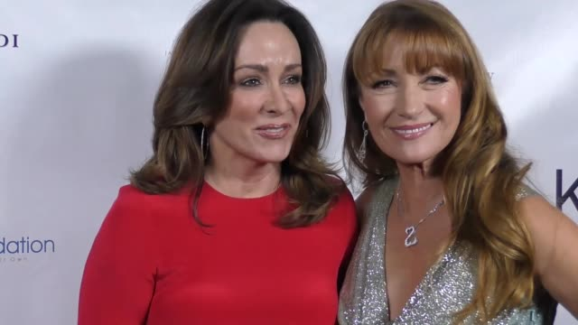 Patricia Heaton and Jane Seymour at The 2017 Open Hearts Gala at SLS Hotel on October 21 2017 in Beverly Hills California