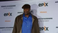 Patrick Ewing at EPIX Premiere Of Amare Stoudemire IN THE MOMENT at Marquee on April 18 2013 in New York New York