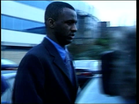 Patrick Vieira fined ITN Birmingham Vieira and others down stairs after hearing EXT Steve Double interview SOT Warning to Patirck and other players...
